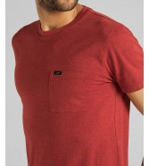 Lee ULTIMATE POCKET TEE L66J Red Ochre