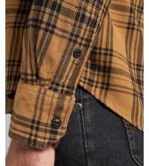 Koszula Lee LEESURE SHIRT L66N Tobacco Brown