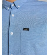 Lee SLIM BUTTON DOWN SHIRT L66X Sterling Blue