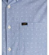 Koszula Lee SLIM BUTTON DOWN L66X Pearl Blue
