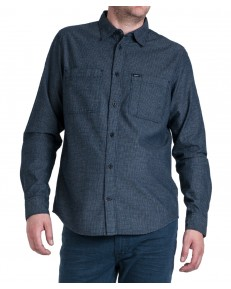 Lee WORKER SHIRT L67Z Black