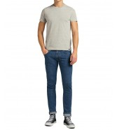T-shirt Lee TWIN PACK CREW L680 Grey Mele/Navy