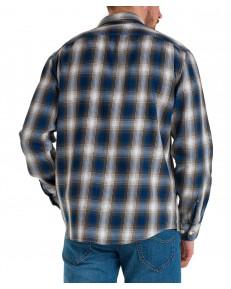 Koszula Lee WORKER SHIRT L68H Serpico Green