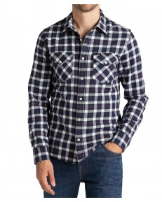 Lee LS REGULAR SHIRT L69H Navy