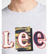 Lee SEASONAL CAMO SWS L80A Sharp Grey Mele