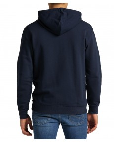 Lee BASIC ZIP THROUGH HOODIE L80K Navy