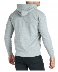Lee BASIC ZIP THROUGH HOODIE L80K Grey Mele