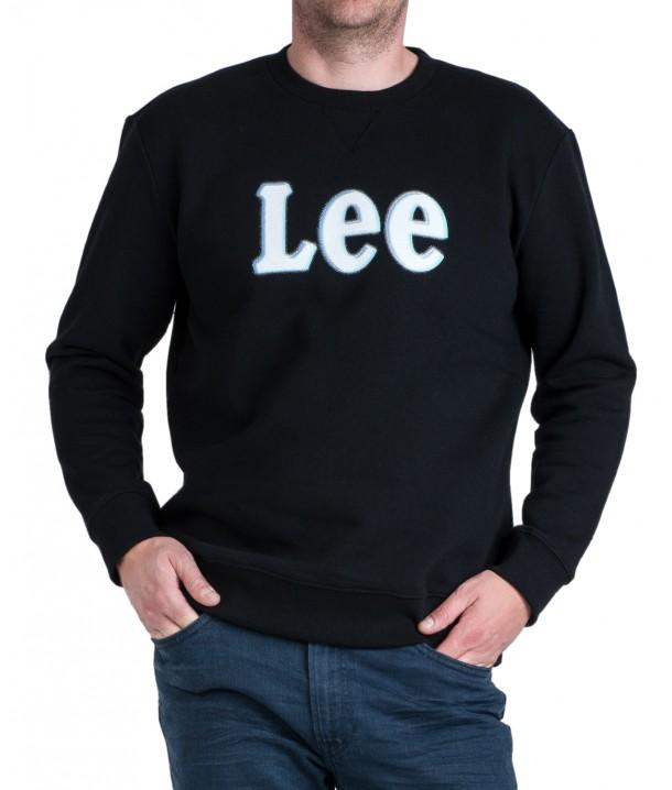 Lee LOGO SWS L80R Black L80RTJ01