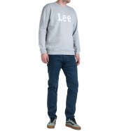 Lee LOGO SWS L80R Grey Mele
