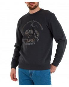Bluza Lee RIDER GRAPHIC L80S Washed Black