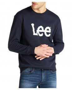 Lee BASIC CREW LOGO SWS L80X Midnight Navy