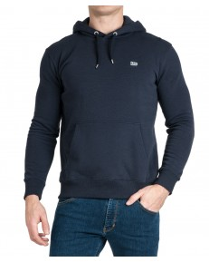 Lee PLAIN HOODIE L80Y Midnight Navy
