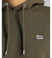 Lee PLAIN HOODIE L80Y Olive Green