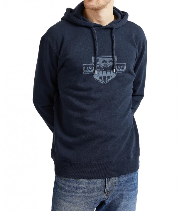 Lee SEASONAL LOGO HOODIE L80Z Sky Captain