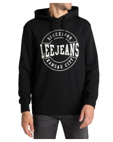 Lee GRAPHIC HOODIE L81X Black