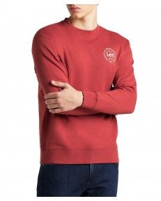 Bluza Lee CIRCLE SWS L82A Red Ochre
