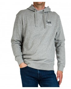 Bluza Lee SMALL TRIANGLE HOODIE L82D Grey Mele