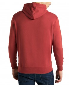 Bluza Lee SMALL TRIANGLE HOODIE L82D Red Ochre