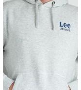 Lee HOODIE L82L Sharp Grey Mele