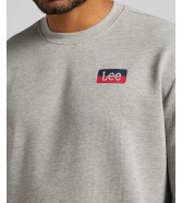 Lee CREW SWS L82S Grey Mele
