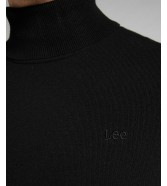 Sweter Lee HIGH NECK KNIT L83C Black