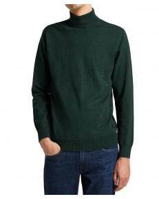 Sweter Lee HIGH NECK KNIT L83C Pine