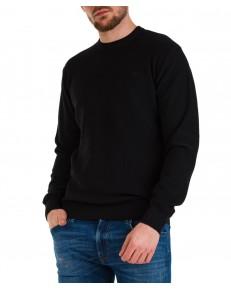 Sweter Lee BASIC CREW KNITWEAR L83I Black