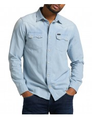 Lee RIDER SHIRT L851 Summer Blue