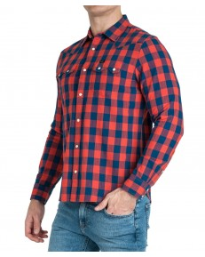 Koszula Lee RIDER SHIRT L851 Poppy Red