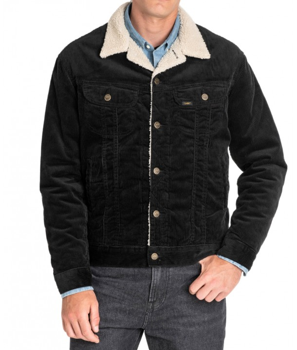 Lee SHERPA JACKET L87A Black L87ADC01