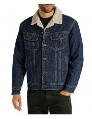 Lee SHERPA JACKET L87A Stone Clayton