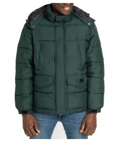 Lee PUFFER JACKET L87X Dark Green Bootle