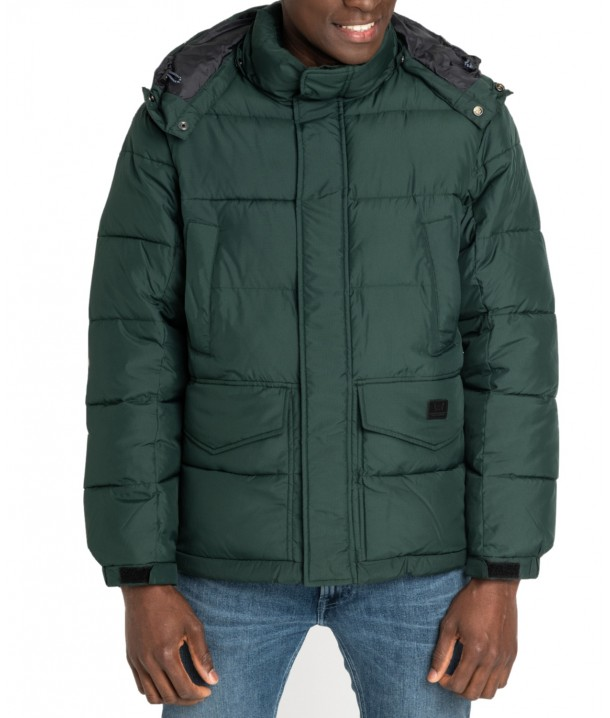 Lee PUFFER JACKET L87X Dark Green Bootle L87XUMBB