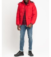 Lee PUFFER JACKET L87X Warp Red