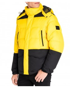 Kurtka Lee MID PUFFER JACKET L87Y Lemon Zest