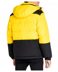 Lee MID PUFFER JACKET L87Y Lemon Zest