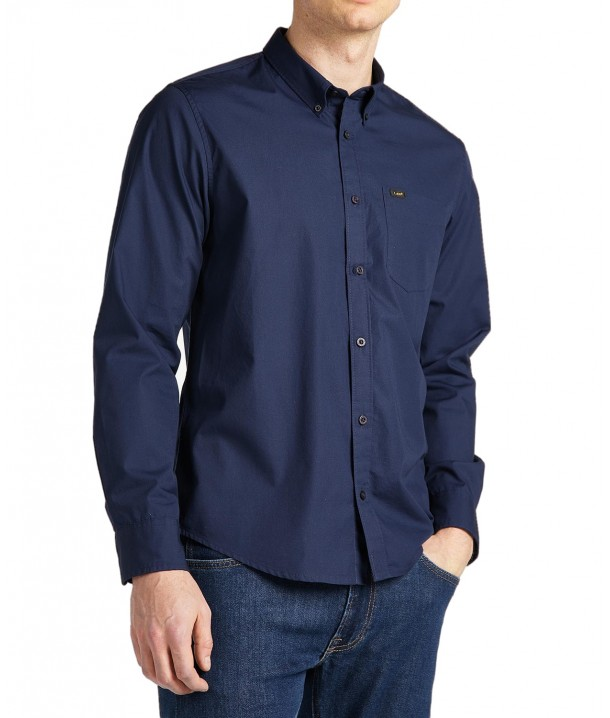 Lee BUTTON DOWN L880 Navy L880JK35