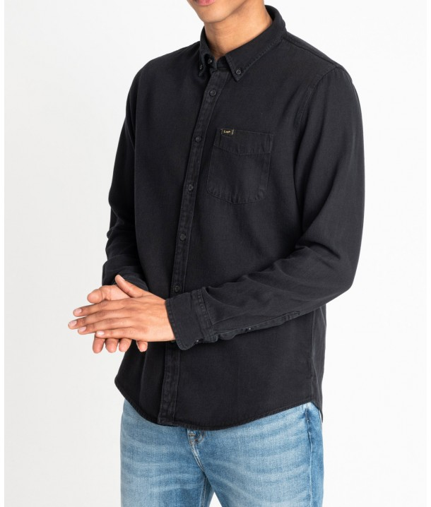 Lee BUTTON DOWN L880 Black L880PA01