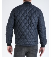 Lee QUILTED BOMBER L89E Dark Grey Mele