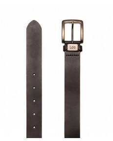 Lee LOGO BELT LA055 Dark Brown