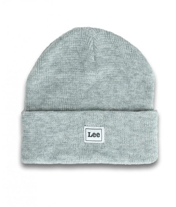 Lee CORE BEANIE LG05 Sharp Grey Mele