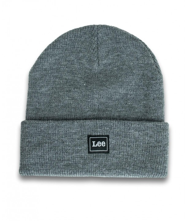 Lee CORE BEANIE LG05 Dark Grey Mele