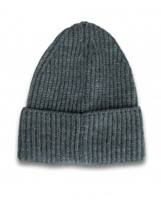 Lee RIB BEANIE LH03 Dark Grey Mele
