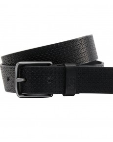 Lee STRUCTURED BELT LS03 Black