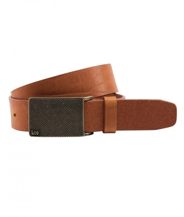 Lee BUCKLE BELT LS31 Dark Cognac