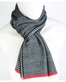 Lee PATTERN SCARF LV98 Black