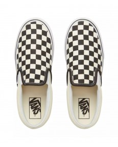 Vans CLASSIC SLIP-ON PLATFORM Black & White Chckerboard/White
