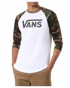 Vans CLASSIC RAGLAN White/Camo