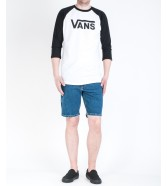 Vans CLASSIC RAGLAN White/Black