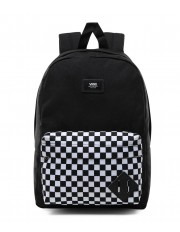 Vans NEW SKOOL BACKPACK Black/Checkerboard